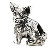 Prerogatives Sterling Chihuahua Bead - J299543