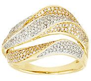 Triple Wave Design Diamond Ring, 14K, 3/4 cttw, by Affinity - J319143
