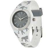 Gossip Critter Motif Silicone Watch - J321443