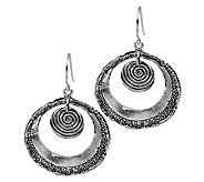 Or Paz Sterling Open Circle Dangle Earrings - J336443