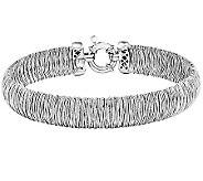 Sterling Polished Fancy Domed 7-3/4 Bracelet - J341043