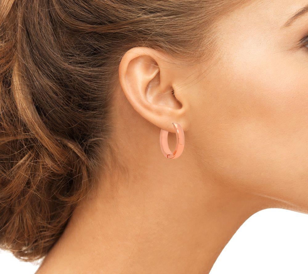 Stainless Steel Hoop Earrings - Page 1 — QVC.com