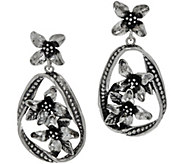 Or Paz Sterling Silver Multi-flower Dangle Earrings - J349543