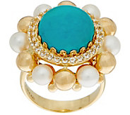 Arte dOro Turquoise Ring, 18K Gold - J350943