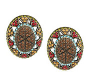 Joan Rivers Crystal Opulence Clip Earrings - J271144