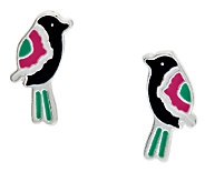 Vera Bradley Bird Post Earrings - J291344