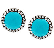 Graziela Gems Sleeping Beauty Turquoise & Gemstone Stud Earrings - J295744