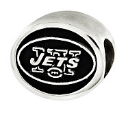 Sterling New York Jets NFL Bead - J315144