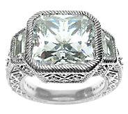 Judith Ripka Sterling 10.65 cttw Diamonique Ring - J316844