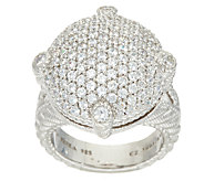 Judith Ripka Sterling_Pave 1.45 cttw Diamonique Ring - J322844