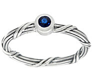 Peter Thomas Roth Sterling Signature Romance Sapphire Ring - J331244