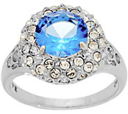 Grace Kelly Collection Simulated Sapphire & Diamond Ring - J346344