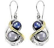 Hagit Sterling Silver & 14K Gold CulturedPearl Earrings - J377144