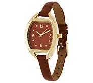 Isaac Mizrahi Live! Skinny Strap Watch - J295945