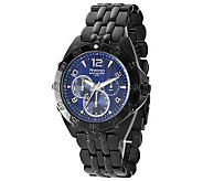 Armitron Mens Ion-Plated Black Stainless SteelWatch - J304245