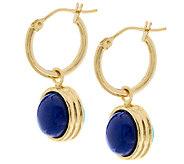 VicenzaGold Reversible Gemstone Bead Drop Earrings, 14K - J319645