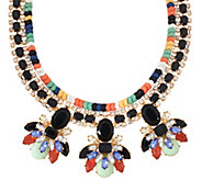 Susan Graver Multi-Strand Statement Necklace - J321545