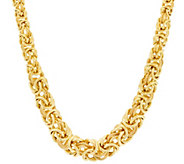 Judith Ripka 18 Verona Graduated Byzantine Necklace 43.0g - J330045