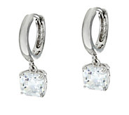 Diamonique Dangle Earrings, Sterling - J332945