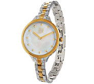 RLM Staineless Steel Mother of Pearl Watch - J334745