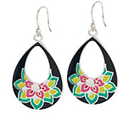 Vera Bradley Teardrop Dangle Earrings - J291346