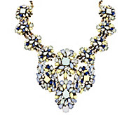 Joan Rivers Opalescent Clusters 18 Statement Necklace - J296746