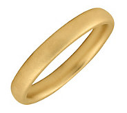 Simply Stacks Sterling 18K Yellow Gold-Plated 3.25mm Ring - J298946