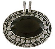Novica Artisan Crafted Sterling Smoky BlossomPendant - J307546