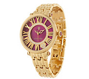 Judith Ripka Stainless Steel Goldtone London Watch - J323846