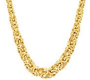 Judith Ripka 20 Verona Graduated Byzantine Necklace 45.2g - J330046