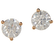 Diamond Stud Earrings, 7/10 cttw, 14K Gold, by Affinity - J354146