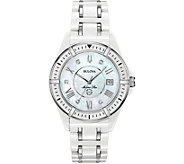 Bulova Womens Ceramic Marine Star Diamond Watch - J378546