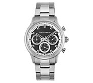 Vince Camuto Mens Multi-Function Stainless Bracelet Watch - J383546