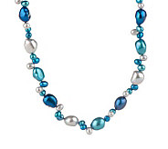 Honora Cultured FreshwaterPearl Blue Moon 36 Necklace - J158647