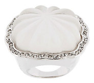 Kenneth Jay Lanes Fluted Style Ring - J265847