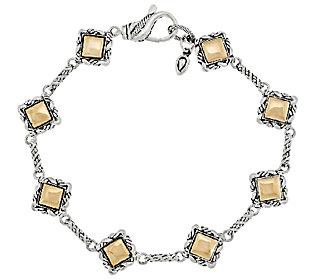Product image of JAI John Hardy Sukhothai Sterling & 14K Gold Station Bracelet