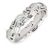 Simply Stacks Sterling Polished Scroll Ring - J299147