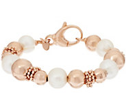 Honora Cultured Pearl 9.5mm Bronze Bead Bracelet - J319347
