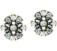 BaubleBar Foliage Stud Earrings - J322347