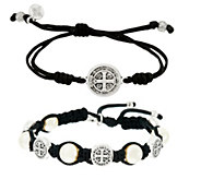 My Saint My Hero Divine Blessing & Protection Bracelet Set - J329947