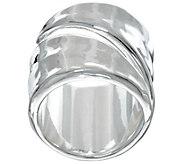 RLM White Bronze Coil Ring - J334747