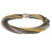 As Is Vicenza Silver Sterling 8 Multi-strand Bracelet - J335247