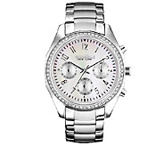 Caravelle New York Womens Silvertone BraceletWatch - J336847