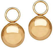 EternaGold Ball Drop Charmlettes, 14K Gold - J345547