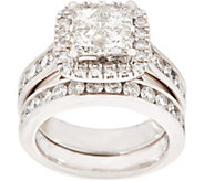 Seamless Diamond Ring Set, 2.80 cttw, 14K, by Affinity - J354147