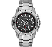 Caravelle New York Mens Chronograph StainlessSteel Watch - J375947