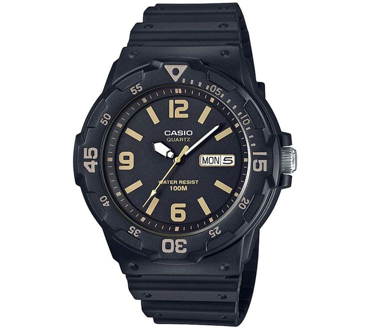 Casio Men's Black Analog Watch — QVC.com