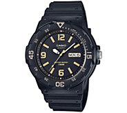 Casio Mens Black Analog Watch - J376447