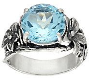 Sterling Silver 3.00ct Gemstone Flower Ring by Or Paz - J274748