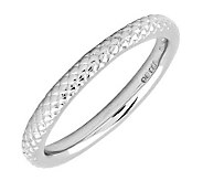 Simply Stacks Sterling Silver Cable 2.25mm Ring - J298048